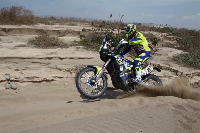 El español Lorenzo Santolino, revelación de la primera semana del Dakar