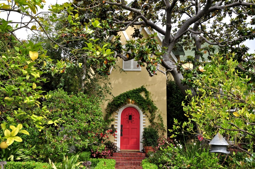 SANTA MONICA, CA -- JUNE 17, 2015 --165 Mabery Road in Santa Monica Canyon, former home of early 20t