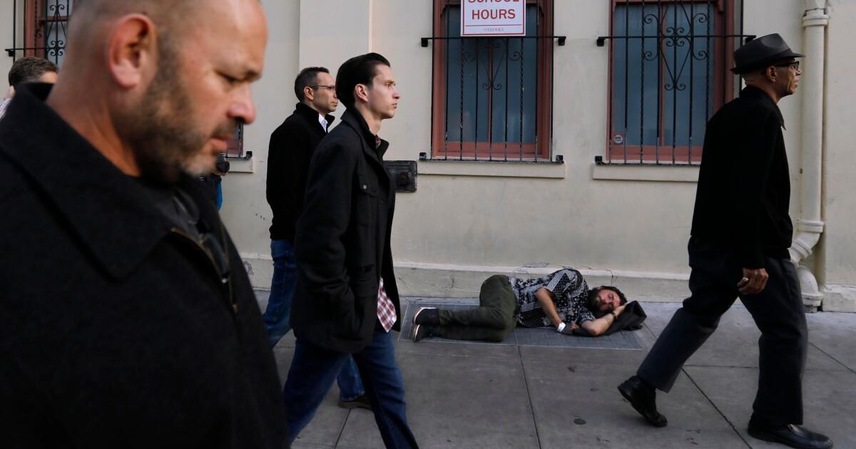 Spalte: Was passiert, wenn ich waren obdachlos? Einen Tauch-Kurs in Empathie, in San Franciscos Tenderloin