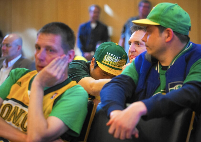 Sonics fans react to Seattle rejection of NBA plan