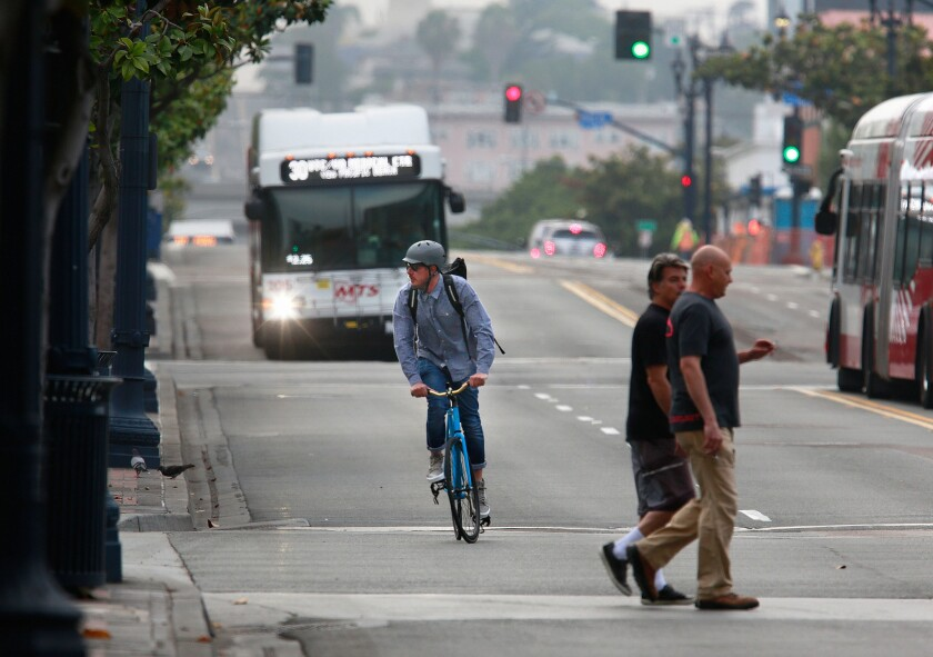 A blueprint for getting more San Diegans to take alternative transportation has been delayed indefinitely.
