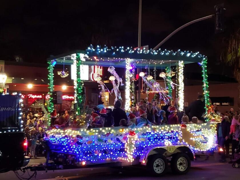 The 'jellyfish' float gets rave reviews.