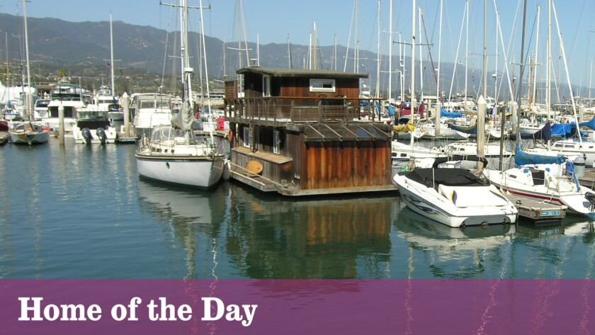 Home of the Day: Living on a houseboat in Santa Barbara Harbor