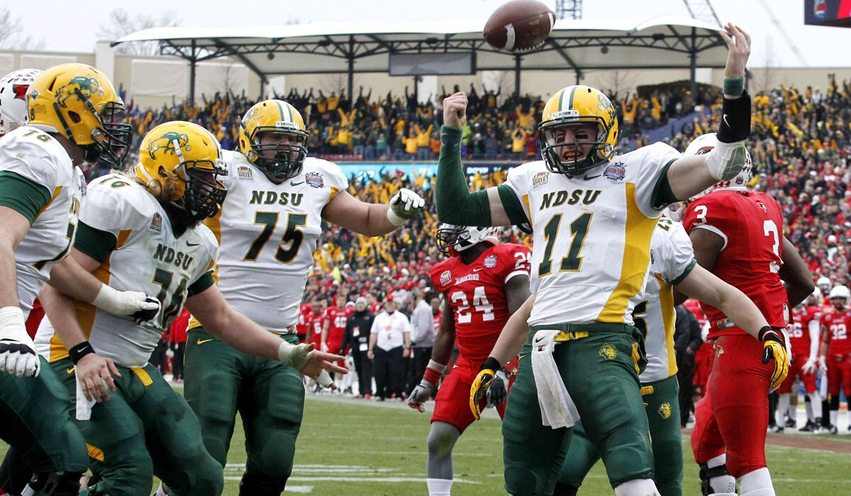 North Dakota State Wins Record Fourth Consecutive Fcs National