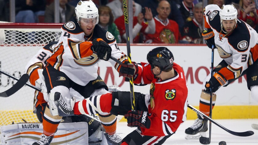 Cam Fowler, Andrew Shaw
