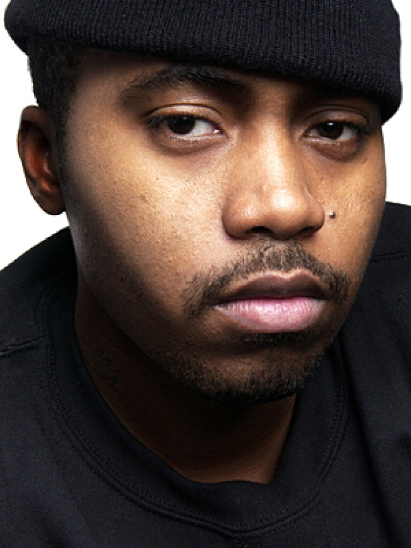 RAPPER: Nas opines about America and race on new CD.