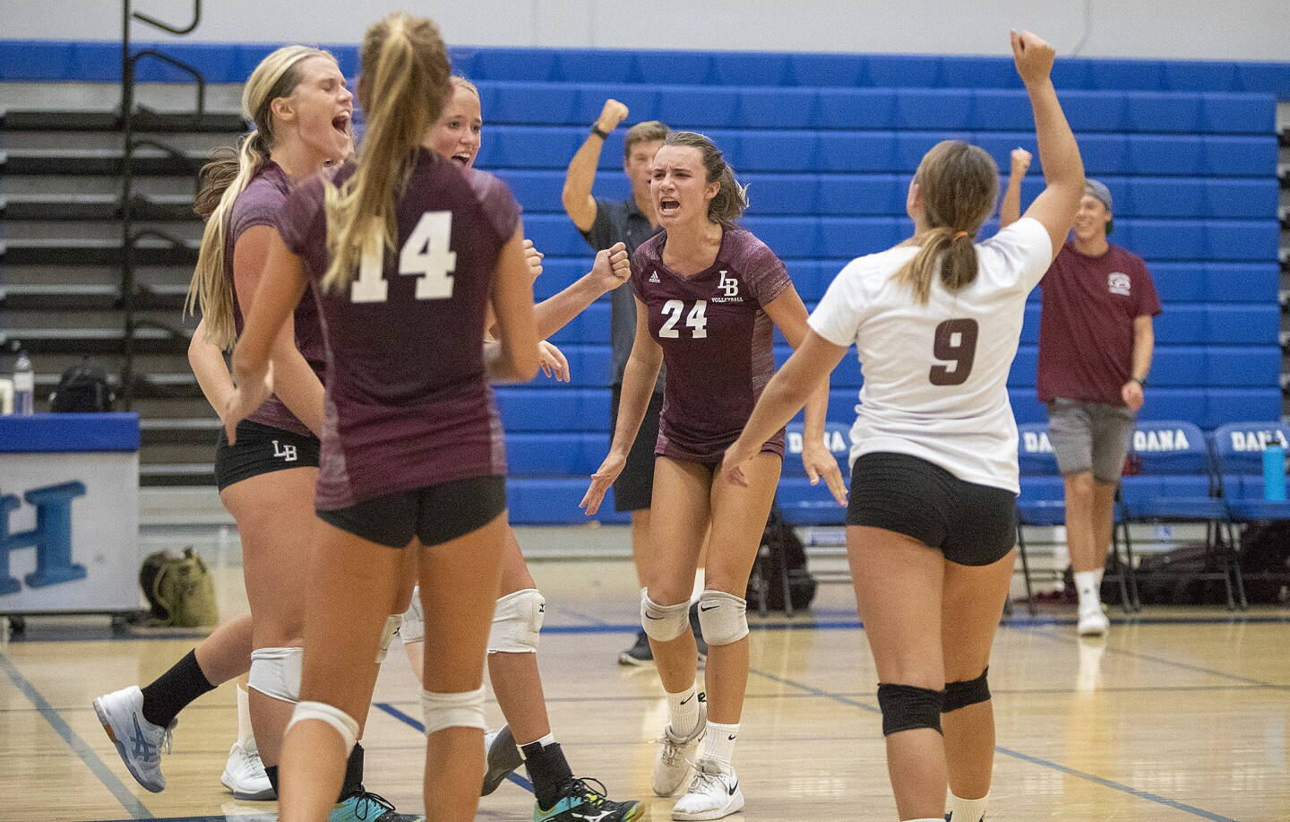 Photo gallery: Laguna Beach vs. Dana Hills in girls' volleyball