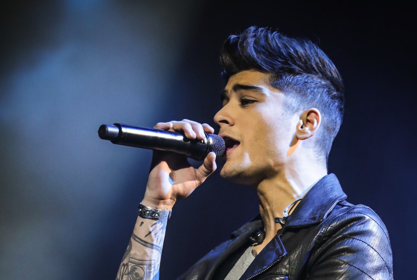 Zayn Malik announced Wednesday that he's left One Direction, the popular British boy band.