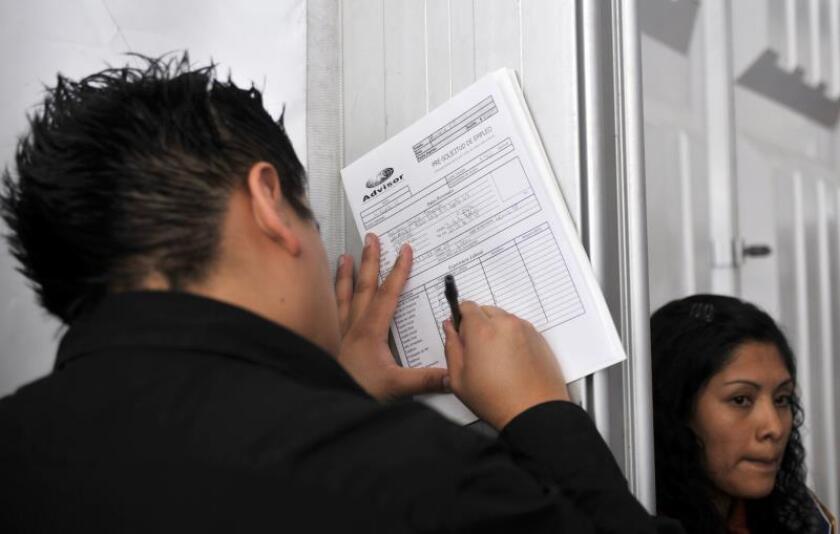 El desempleo en México aumenta al 3,5 % en el segundo trimestre de 2019