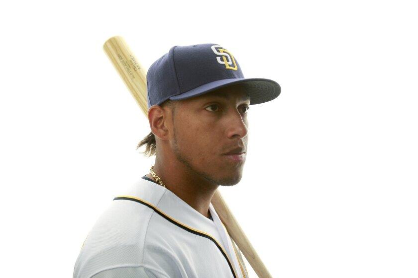 San Diego Padres infielder Yangervis Solarte.