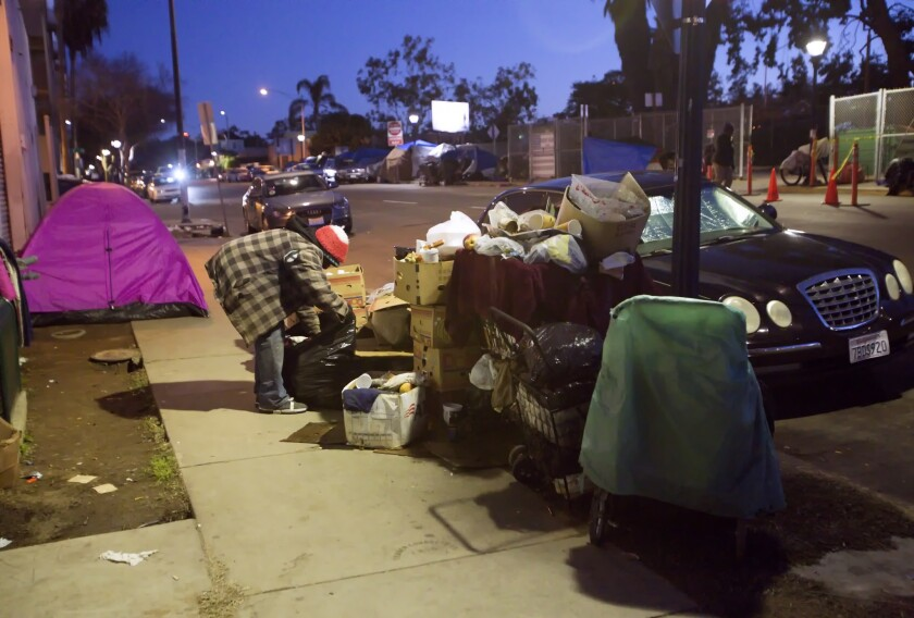 Helping homeless residents with mental health problems is a daunting task in San Diego, but the county and city are increasing efforts to try.