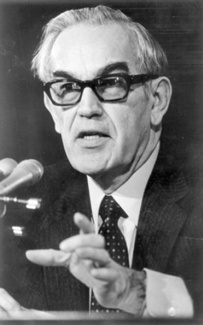 Lefever established in 1976 the Ethics and Public Policy Center, which studies the link between Judeo-Christian morality and national and foreign policy. His nomination by President Reagan to a human rights position in the State Department in 1981 caused a stir over his views. He later withdrew his bid.