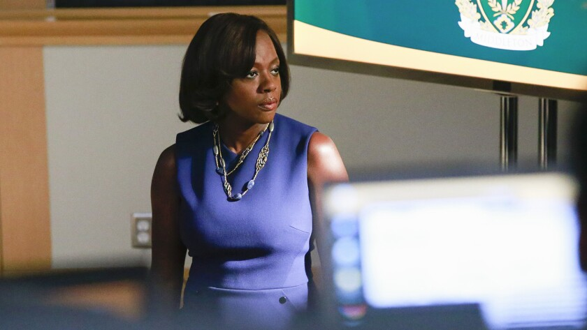"Emmy winner Viola Davis in ""How to Get Away with Murder"" on ABC"