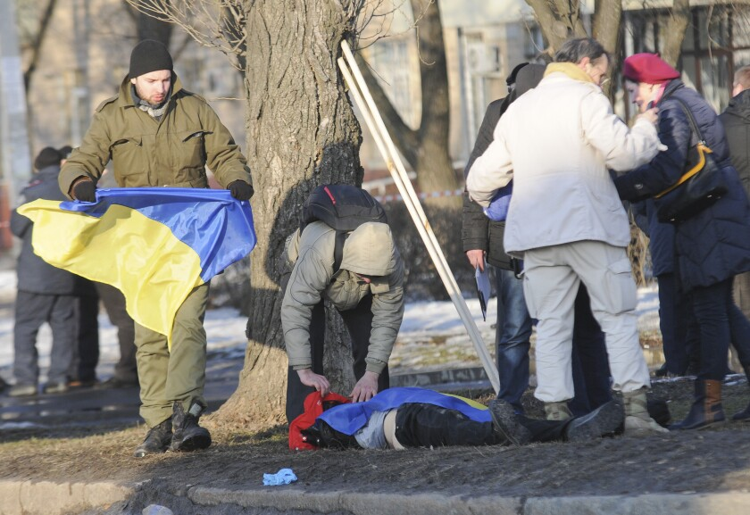 Ukraine bomb blast in Kharkiv