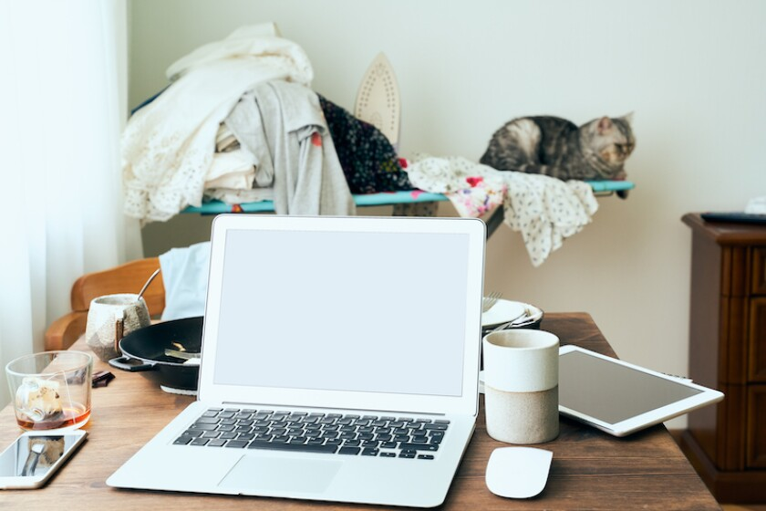 If your work-from-home setup resembles this, it's time for a refresh.