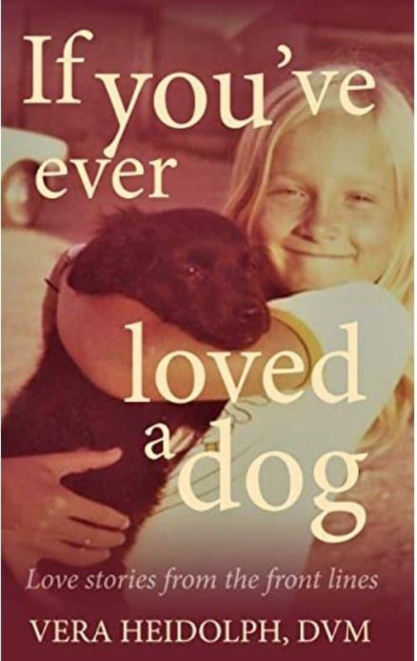 Heidolph's book contains a series of vignettes about her dogs and other stories.