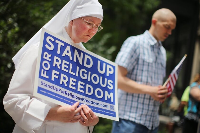 Hobby Lobby ruling supporters
