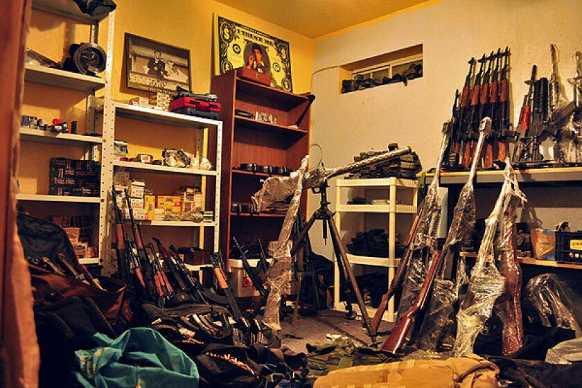 This arsenal uncovered by police in Ciudad Juarez, Mexico, in April turned out to include weapons from the ATF's ill-fated Fast and Furious operation.