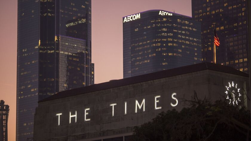 Tronc To Sell Los Angeles Times
