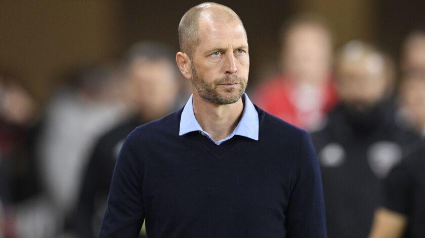 Gregg Berhalter coached the Columbus Crew this MLS season.