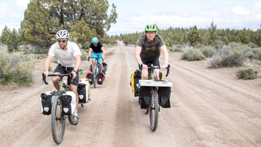 Turn your mountain bike ride into a bikepacking adventure. Make sure that biking is allowed on the t