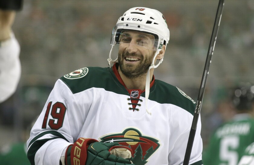 Kings will see a familiar face when Wild's Jarret Stoll comes to Staples Center on Thursday