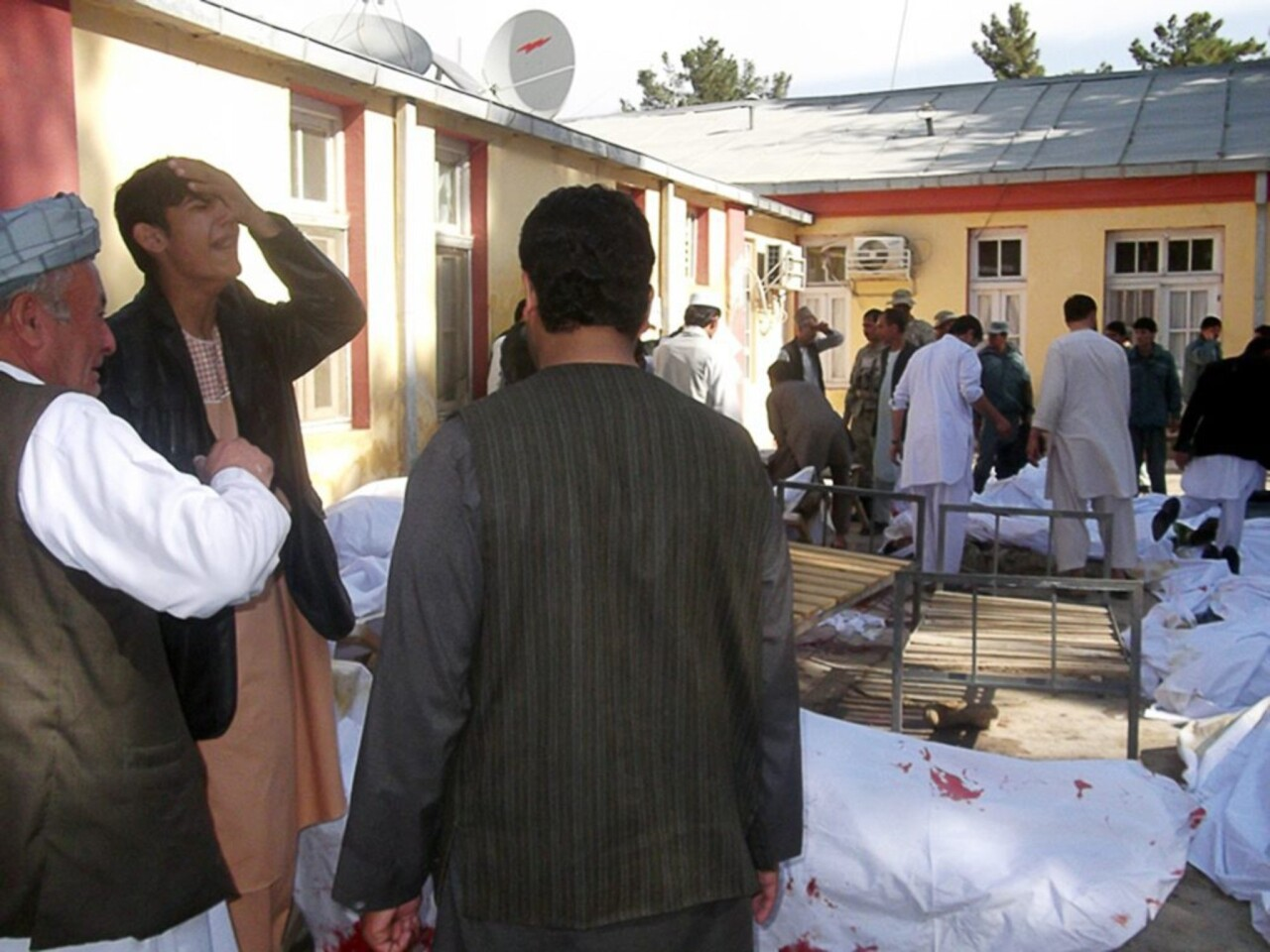 At least 37 worshippers killed in suicide bombing at a Mosque during eid prayers