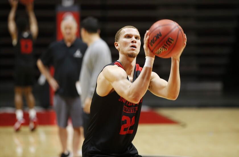 SDSU Basketball Practice