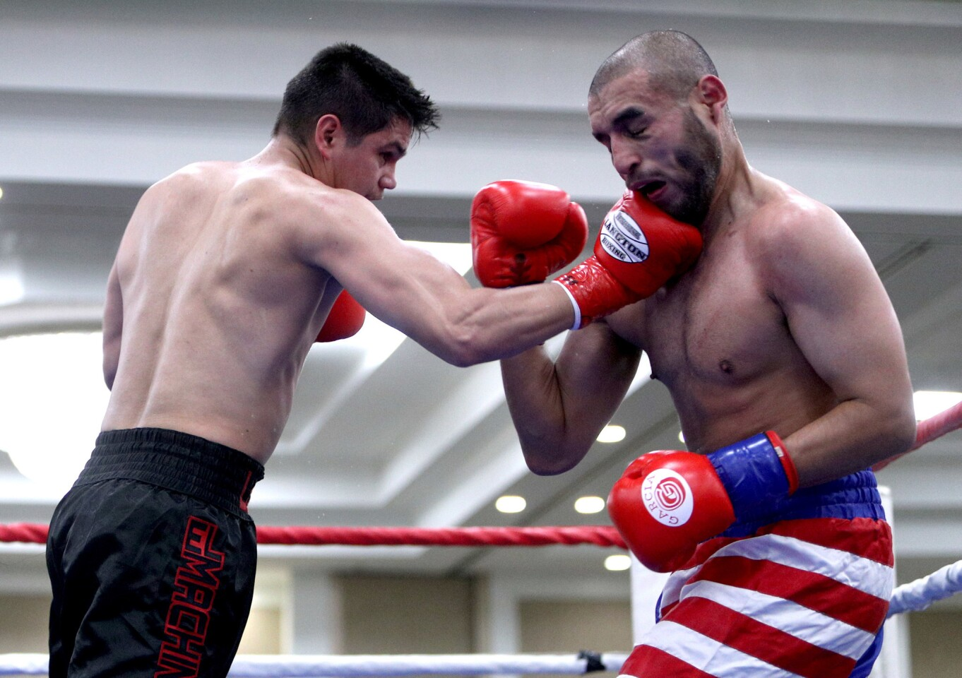 Photo Gallery: Burbank Boxing Club's Damien Lopez wins match at Commerce Casino