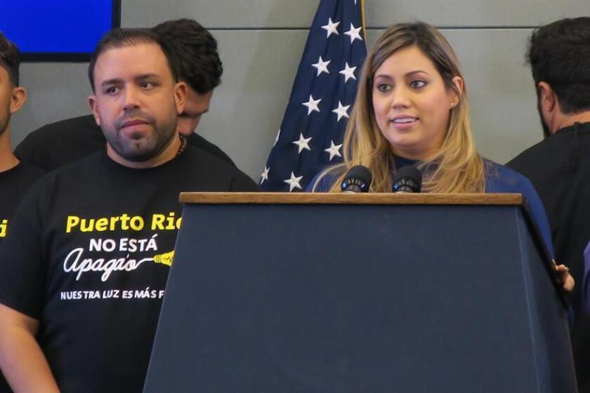 La Primera Dama de Puerto Rico, Beatriz Rosselló (d). EFE/ARCHIVO