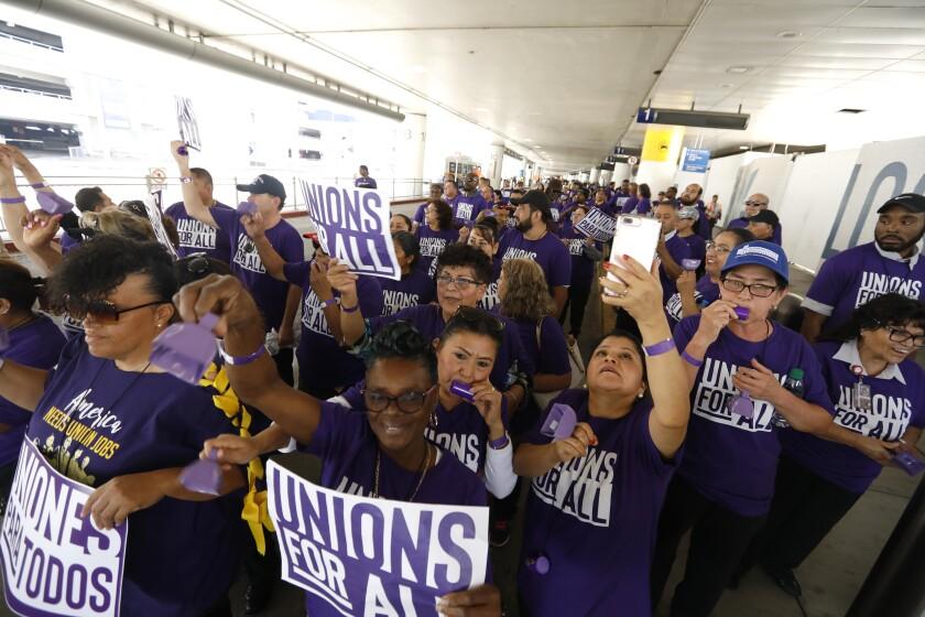 California Unions