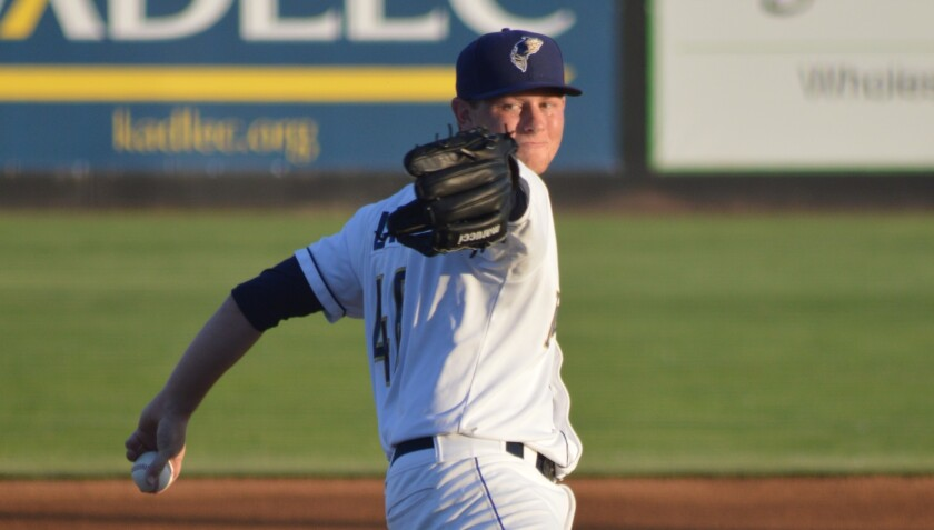 The Padres used one of their first-round picks in 2016 on left-hander Eric Laurer.