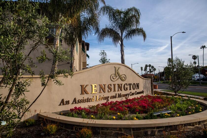 Kensington assisted living facility