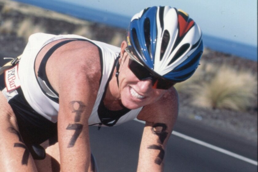 Ironman competitor Julie Moss.