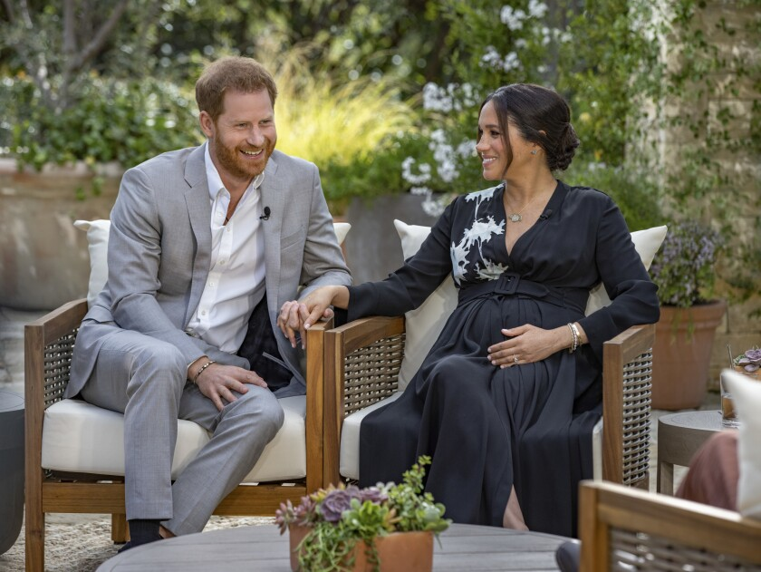 Prince Harry and the former Meghan Markle