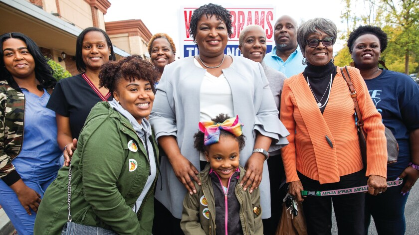 """Stacey Abrams in """"POV"""" on PBS."""