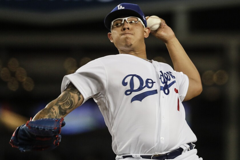 Julio Urías will start Game 3 of the NLCS against the Atlanta Braves on Wednesday.