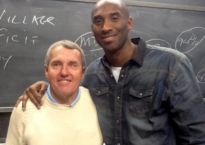 Nick Nugent, Kobe Bryant