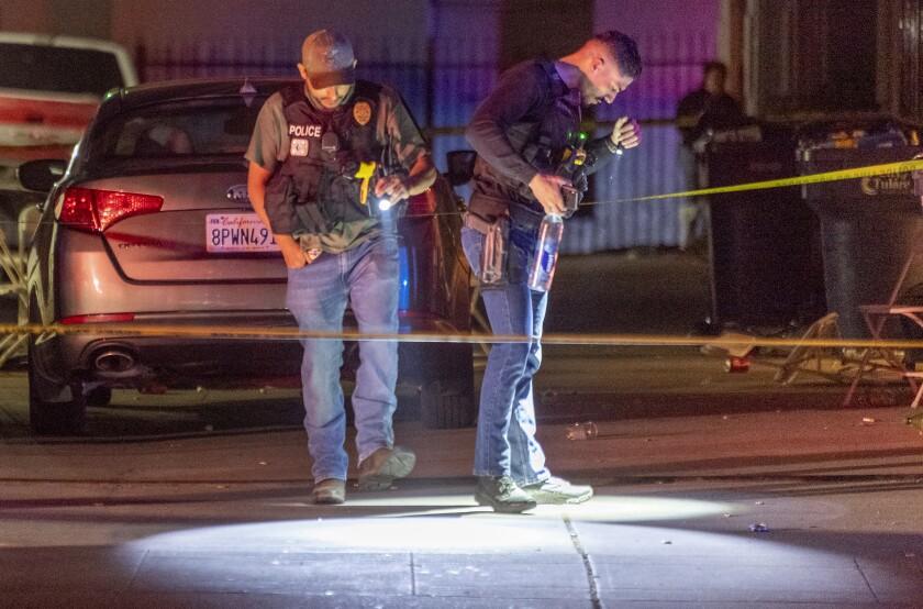 Gunman opens fire on crowd
