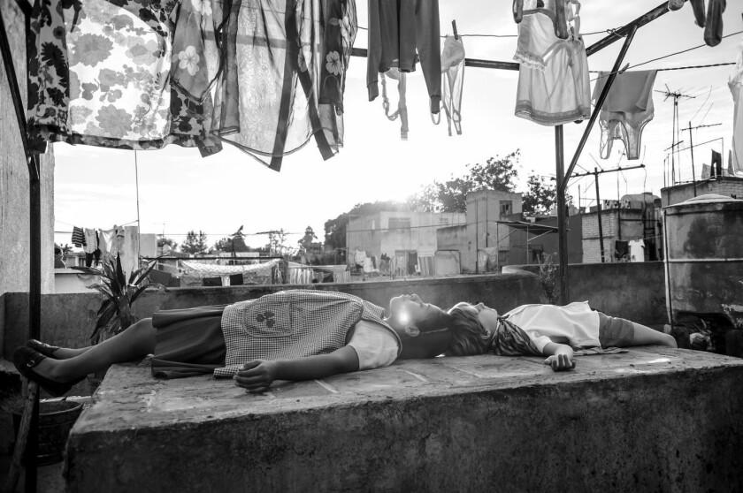 Escena de Roma, dirigida por Alfonso Cuarón.