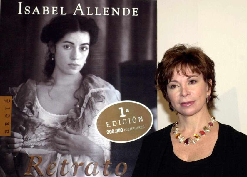 Author Isabel Allende will bring her next book to publisher Atria.