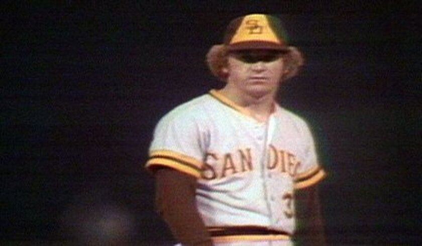 The Padres' Randy Jones earned a spot in the 1975 All-Star Game by going 11-6 with a 2.25 ERA during the first half of the season.