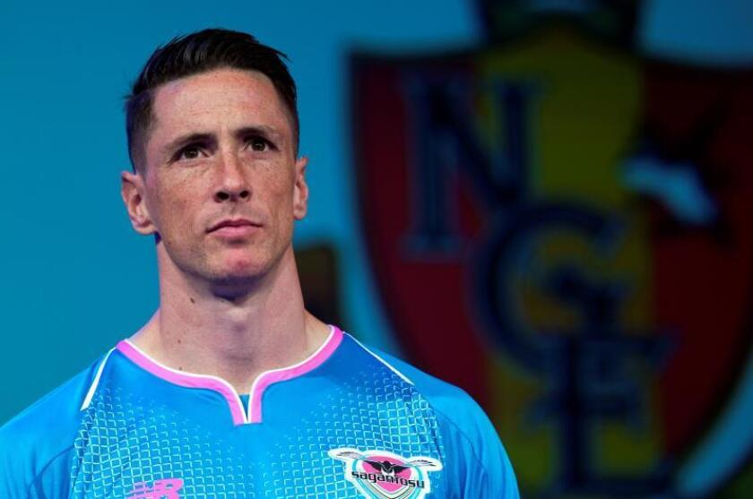 El futbolista español Fernando Torres. EFE/ Franck Robichon/Archivo
