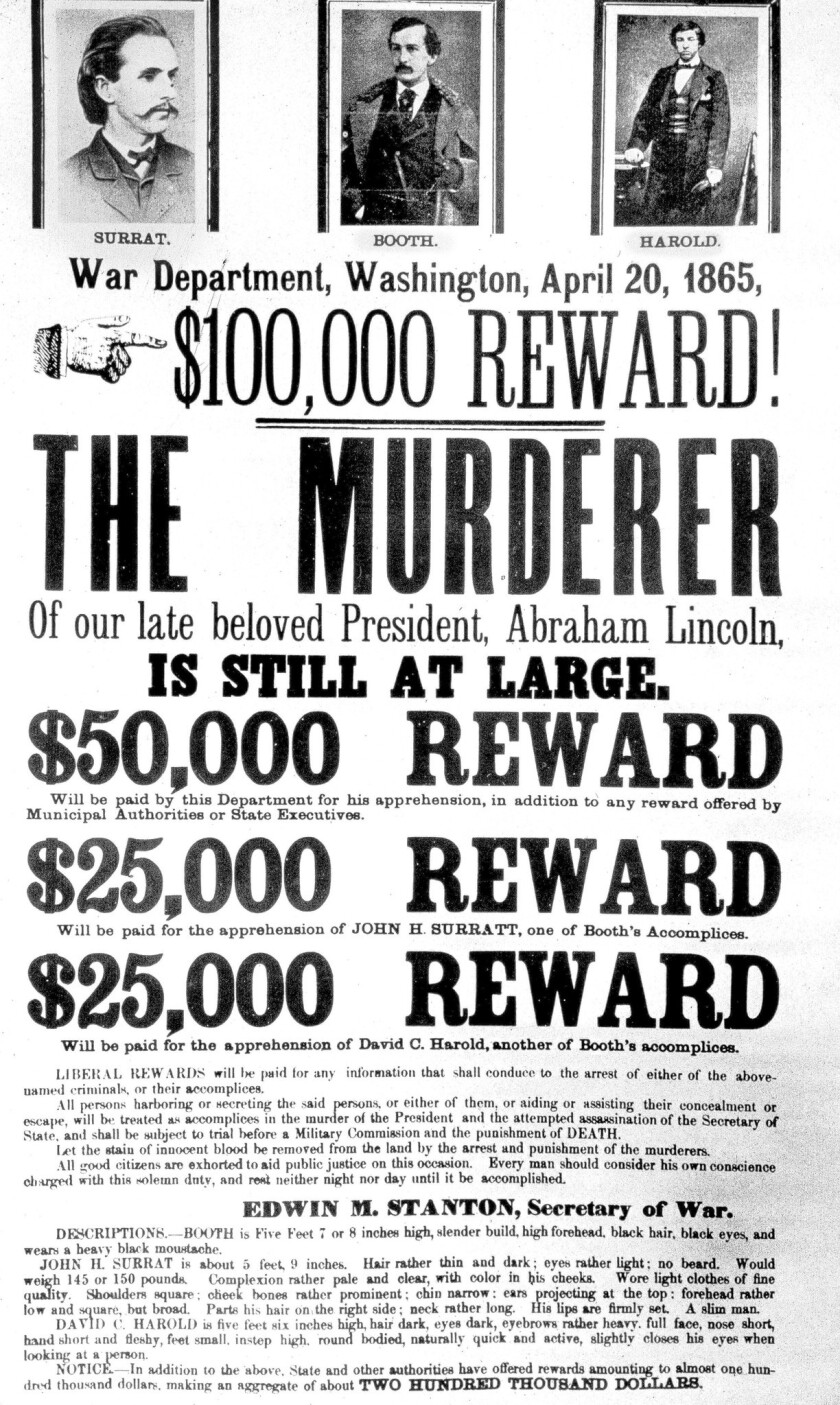John Wilkes Booth was the first of four presidential killers.