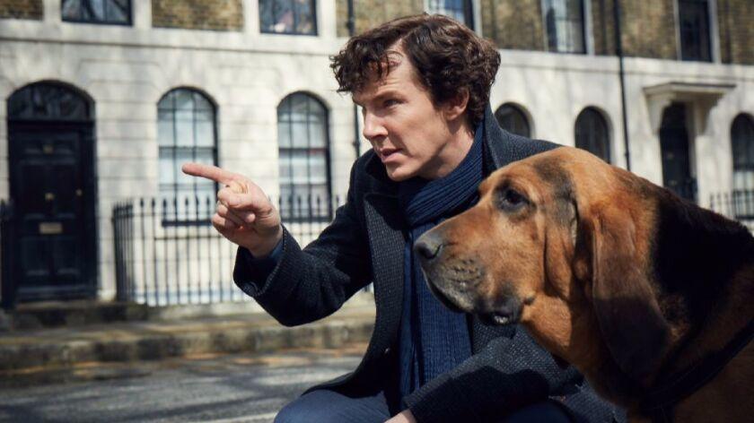 """Benedict Cumberbatch in """"Sherlock."""""""