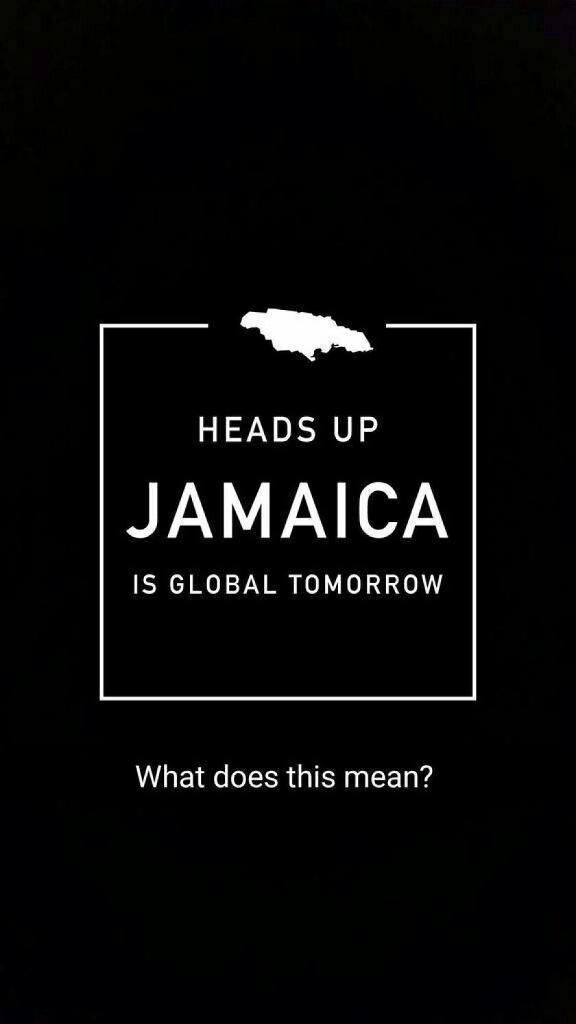 Snapchat announced via its app that Jamaica would be featured on Monday, September 14th.