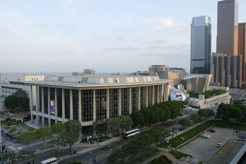 The Dorothy Chandler pavilion, home of L.A. Opera