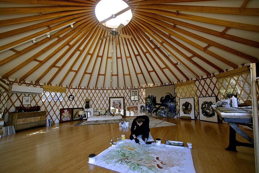 My Favorite Room   Incubus frontman Brandon Boyd finds peace in a yurt