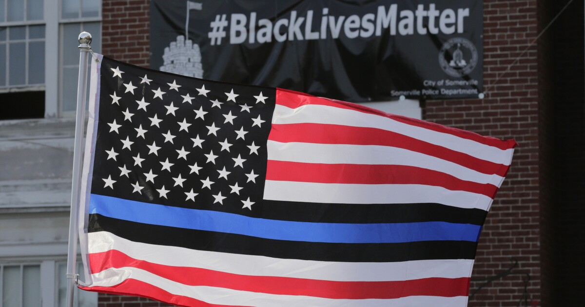 Readers React: Opposing views on the thin blue line flag