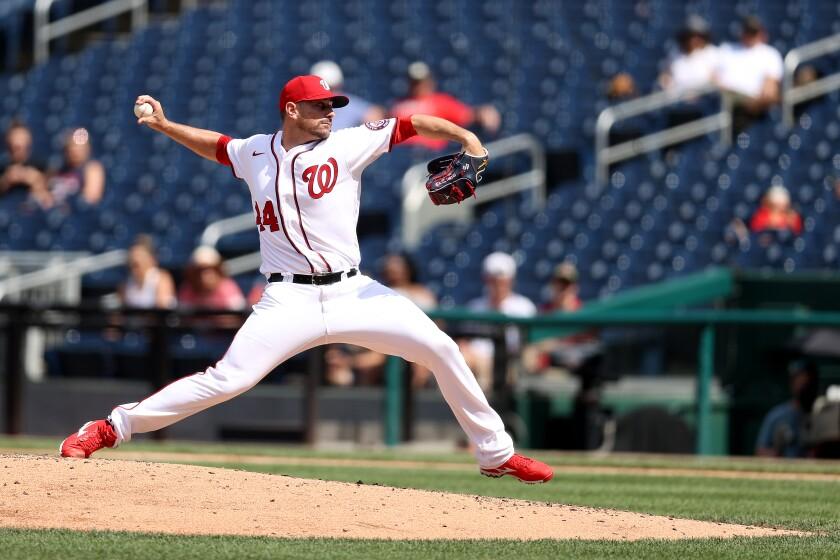 The Padres have added Daniel Hudson from the Washington Nationals for a post-season run.